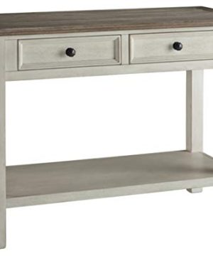 Signature Design By Ashley Bolanburg Sofa Table Two Tone 0 300x360