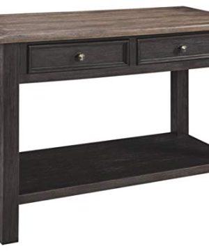 Signature Design By Ashley Tyler Creek Modern Farmhouse Sofa Table Brown Black 0 300x360